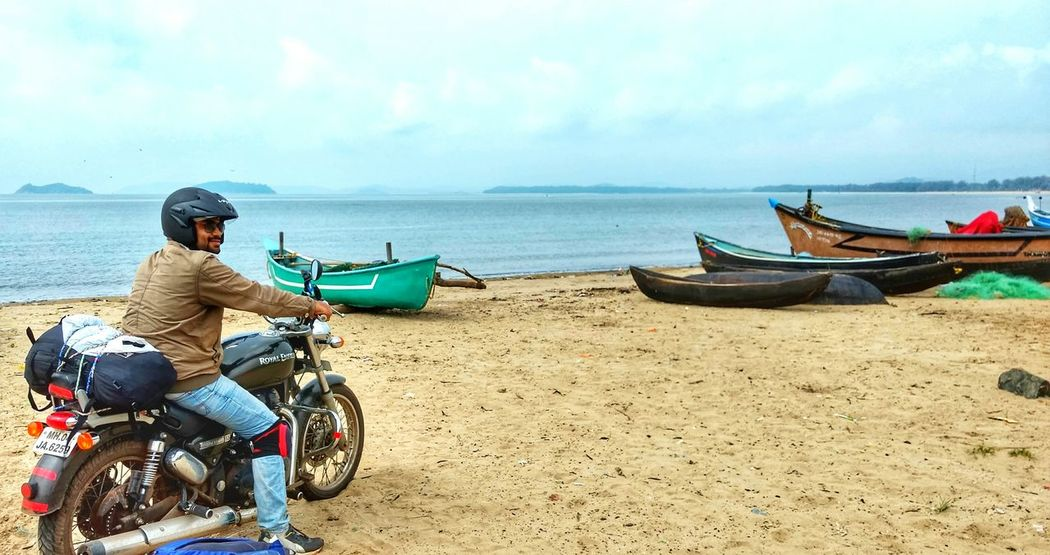 Beachlife Travel Diaries. Bikerider Art Is Everywhere Speaking Photos Let's Go. Together. Lost In The Landscape Colour Your Horizn