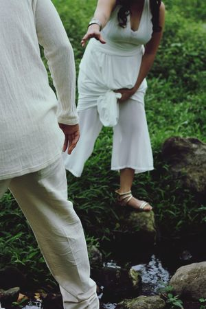 Love Two People Togetherness White Color Adult Wife Outdoors Husband Human Body Part Standing Live For The Story Summer Teamwork Reach Out Couple Assist