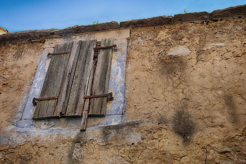 Decay Decaying Decaying Building Decayed Beauty Wood HDR Hdr_Collection Vodice Vodice, Croatia Croatia Ancient Civilization Ancient History Old Ruin Sky Architecture