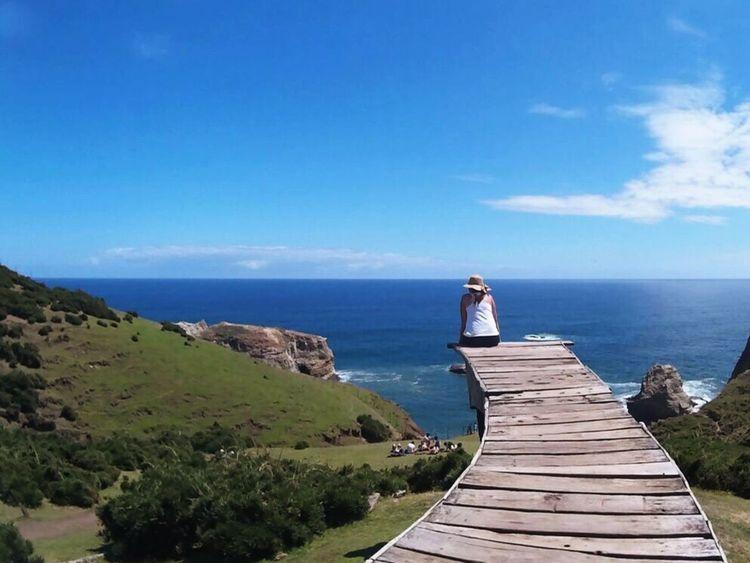 Horizon Over Water Sea Nature Tranquility Outdoors Sky Scenics Beauty In Nature The Way Forward Bridge Infinity ∞