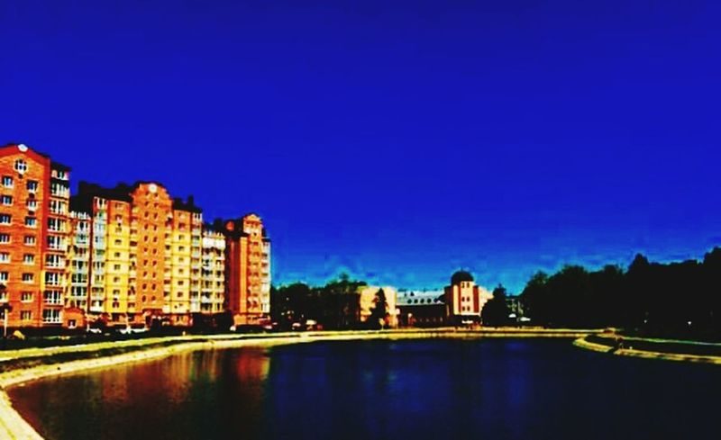 красота красотище крамивоеместо красиво небо⛅️ небо дом Ночь вечер краса