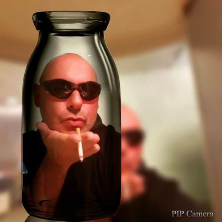 autoportrait Yvonbien Smoke Cigarette  Sunglasses Autoportrait Self Portrait France Jar People Adult Refreshment One Person Indoors
