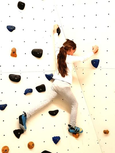 FlasHH Boulder Spot Kidsphotography Bouldering Hamburg Flashh YoungTalents EyeEm Selects Adults Only People Adult One Person Motion Indoors  Sport One Young Woman Only