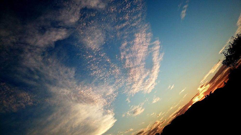 Sunset Taking Photos Tramonto Bellissimo Sky