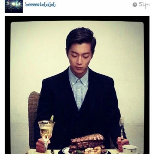 내남자다♥ 진짜남자요!!!! 저녁식사를잘먹어양! 나두보고싶은데엉엉ㅇ♥♡♥ Repost Beeeestdjdjdj Yoondoojoon B2st