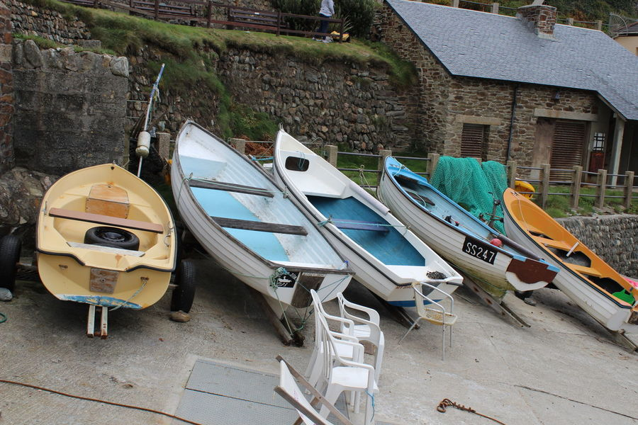 Harbour St Agnes Boats Day Mode Of Transport Nautical Vessel No People Outdoors Transportation