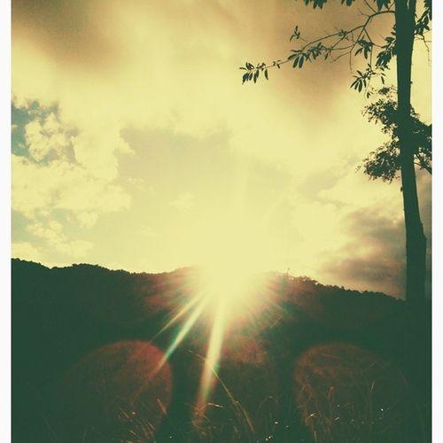 Por do sol Casadamamae :-)