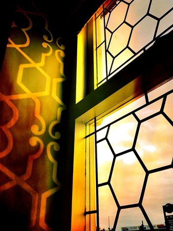 Light On Shapes No People Hexagon Hexagonal Hexagonstyle Hexagons Everywhere Indoors  Light Shapes Shapes And Forms Shapes And Patterns