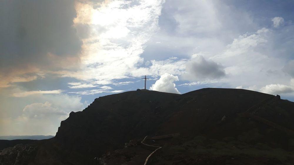 Cloud - Sky Travel Destinations Day Outdoors Wind Power Sky Nature Managua Masaya Volcano Magic