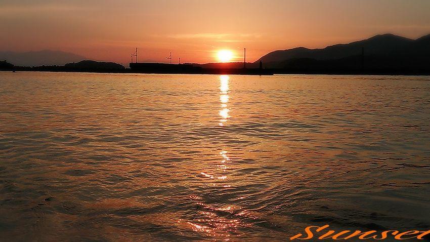 お疲れsummer~(^_^;))) Miyazaki Kushima Sunset 夕凪 Enjoying Life Yuka  Relaxing Fresh Air Relaxing Happy Pray For Kyushu