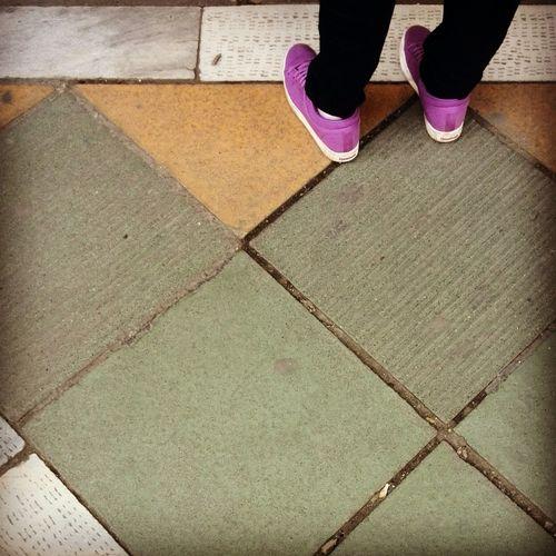 Violet Shoe Street