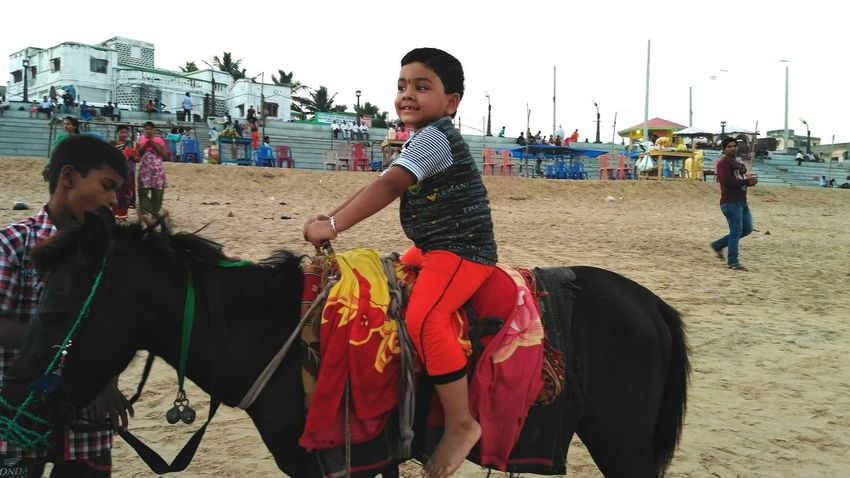 Sand Boys People Child Horse Photography  Horse Photography  Horse Photography  Horse Photography  Horses Animal Themes Children Only Lifestyles Beach Be. Ready.
