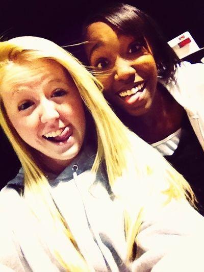 me and Jazmyn last night! love her