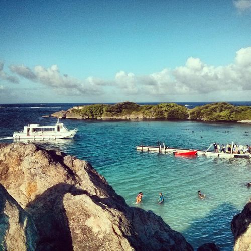 Boats Pontoon Beachphotography Martinique