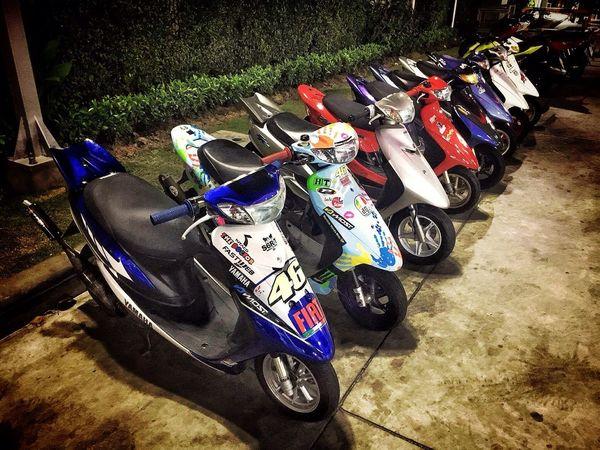 Thailand Yahama Scootet_racing Scooter_thailand Hamtaro_racing Jog Zr_evo 2t_racing