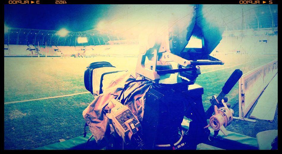 Glitch Rugby Stadium Stadedesalpes Videocamera