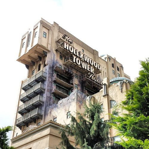 La giostra più figa del pianeta TheTwilightZoneTowerOfTerror 60mt Cadutalibera Disneylandparis