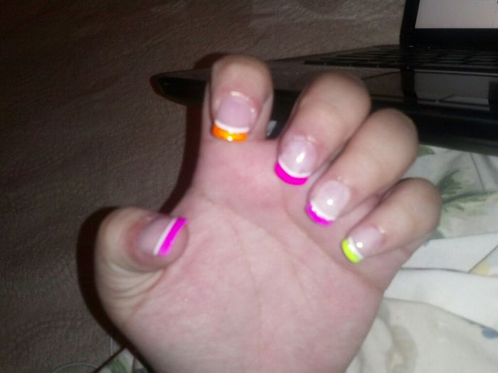 My Little Sister Did My Nail