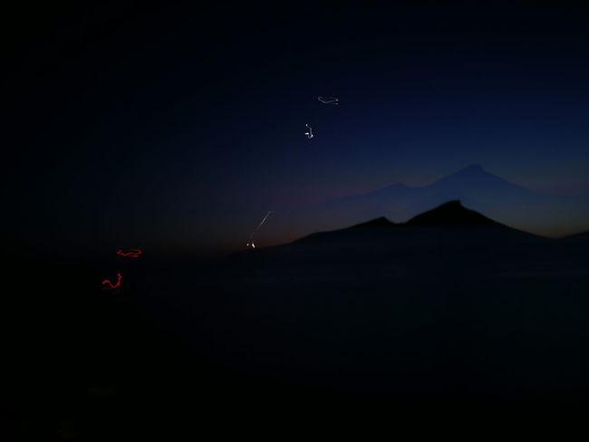 Dragonera Mountain Mountain Range darkness and light Darkness Night Night Lights Astronomy Mountain Moon Flying Sky Landscape Galaxy Star Field Starry Infinity Star - Space