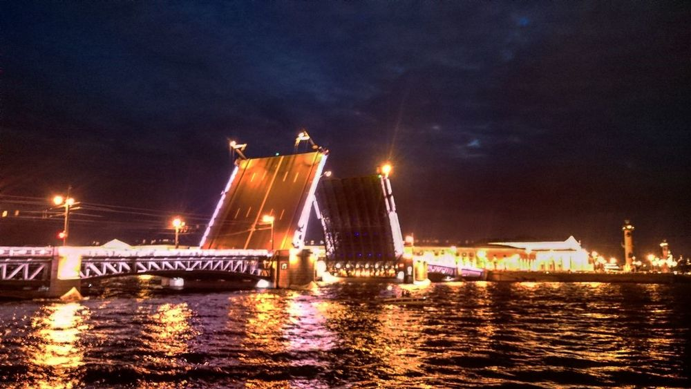 My Favorite Place St. Petersburg Night Water Bridge - Man Made Structure Architecture City Famous Place