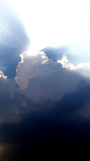 Cloud - Sky Sky Nature Sunbeam Outdoors No People Scenics Beauty In Nature Cold Temperature Storm Cloud Day Mountain