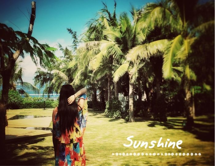 Beachphotography Coconut Trees Self Portrait Check This Out Colorful Sunshine ☀ Good Mood :)