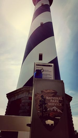 Look Up And Thrive came to the Outer Banks this weekend for a chill Bachelor Party weekend and decided to check out the Cape Hatteras Lighthouse, the tallest in North America.