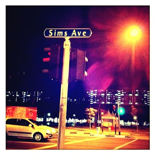 First Eyeem Photo Singapore Eunos Travel Jalanjalan EunoStation Night Lights Night Photography Lights