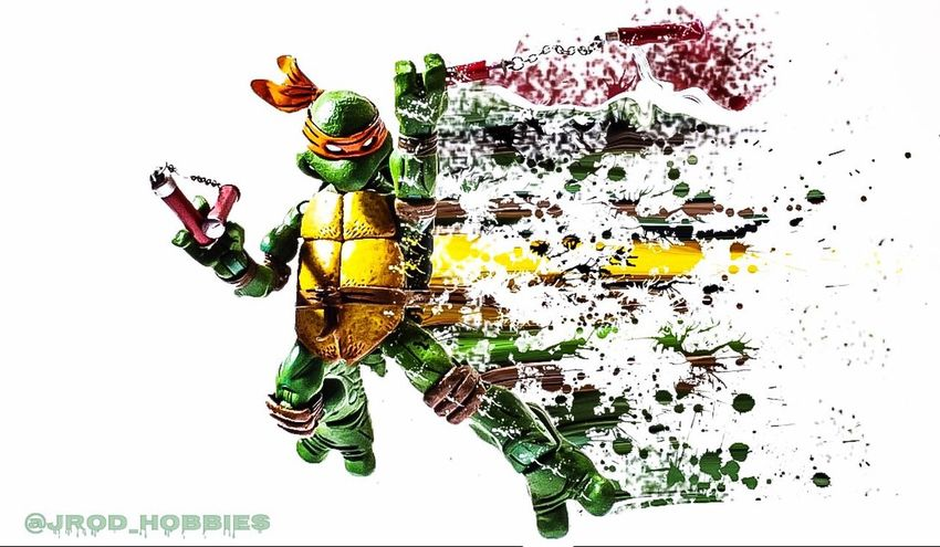 Colors Color Splash Splash Effect Ninja Turtles Teenage Mutant Ninja Turtles  Art Art And Craft Arts Culture And Entertainment EyeEm Best Shots EyeEm Best Edits Toys Sonyalpha EyeEmPaid Eye4photography  Amazing Artistic Showcase April