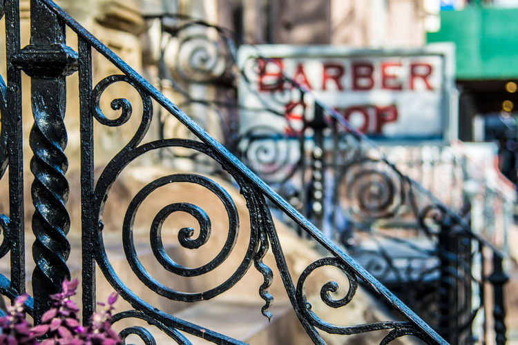 Barber Barbershop Close-up Day Focus On Foreground Metal New York New York City No People Outdoors Stairs Stairs_collection Street Street Art Street Photography Streetphotography Urbanphotography Art Is Everywhere