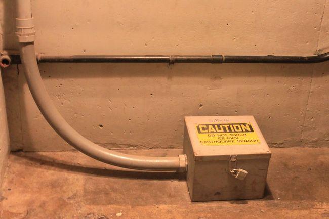 Engineering Earthquake Sensor Hoover Dam Nevada Arizona Mohave Desert USA 1931 Colorado River