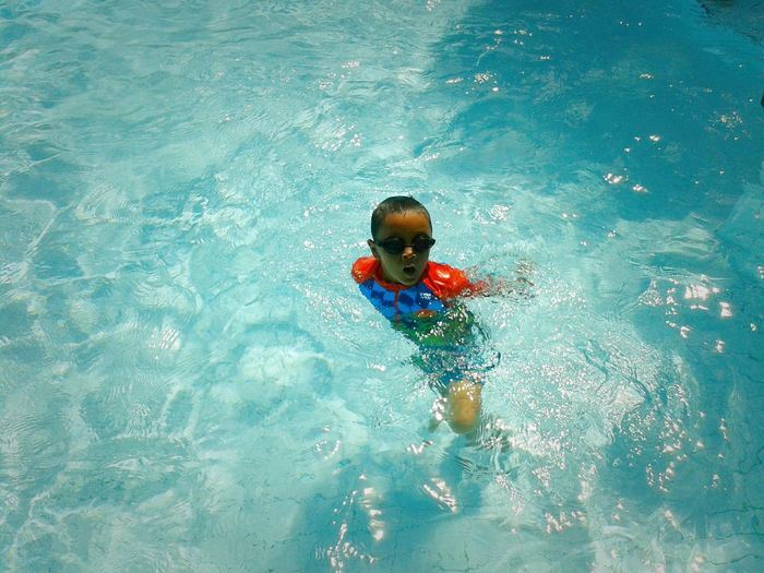 Splish, splash, splosh. Swimming Escaping From The Heat Getting In Shape Peace And Quiet