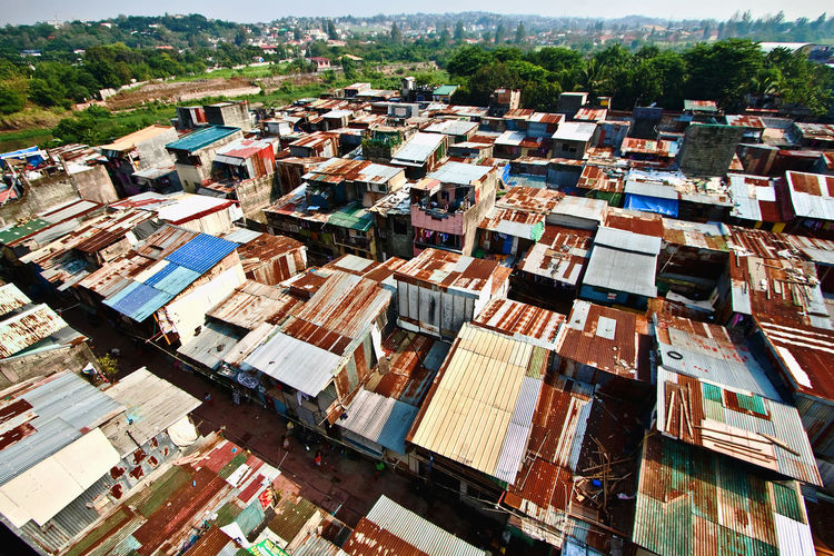 Impoverished Poor  Poorpeople Poverty Rusty Roof Slums Slumsofmanila Squatters