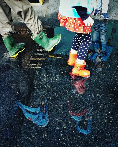 Rain Puddleography Puddle Rainy Days Rainy RainyDay Rain Boots IPSWeather Showcase: December My Best Photo 2015 RePicture Growth Colors Of Carnival Youth Of Today Learn & Shoot: Balancing Elements Photography In Motion Alternative Fitness Up Close Street Photography Everyday Emotion Fine Art Photography Adventure Club Carnival Crowds And Details