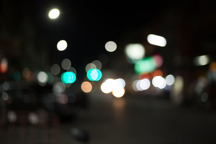 Architecture Background Bokeh Bokeh Car Circle City City Street Defocused Geometric Shape Glowing Illuminated Lens Flare Light Light - Natural Phenomenon Lighting Equipment Motor Vehicle Night No People Outdoors Road Shape Street Transportation Vehicle Light