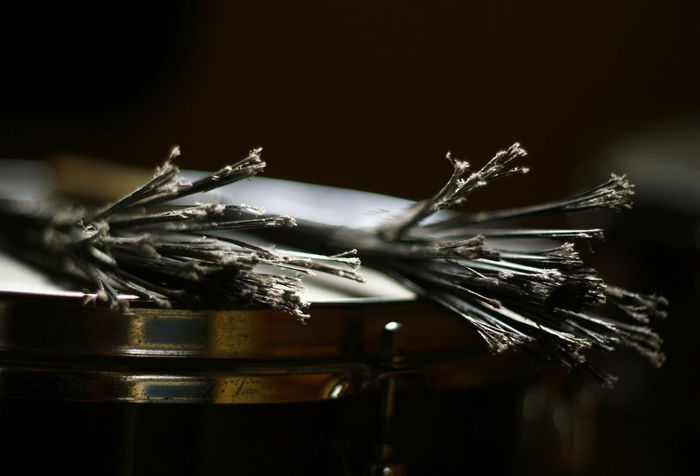 DRUM BRUSHES Music Close-up Drum Brushes Drum Kit Focus On Foreground Metal Musical Instrument Percussion Instrument