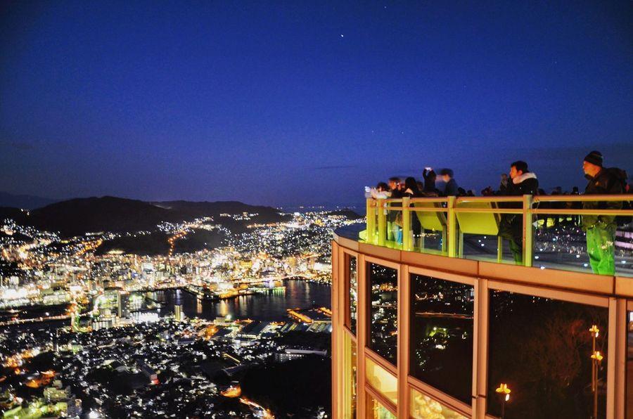Japan City Life Nagasaki watch tower Neighborhood Map