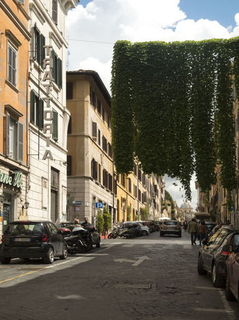 Via Panisperna Moving Around Rome Architecture Building Exterior Car City No People Outdoors Sky Street