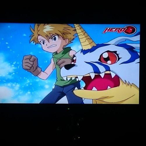 Lakas maka bata ng pinapanood ko ngayon hahaha 😊 Nowwatching Digimon Kiddo Isipbata