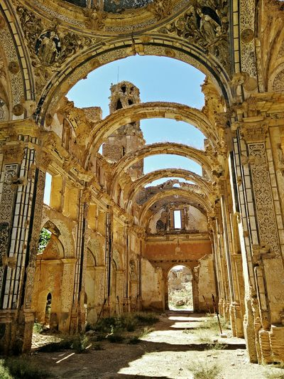 Belchite Ruins Church