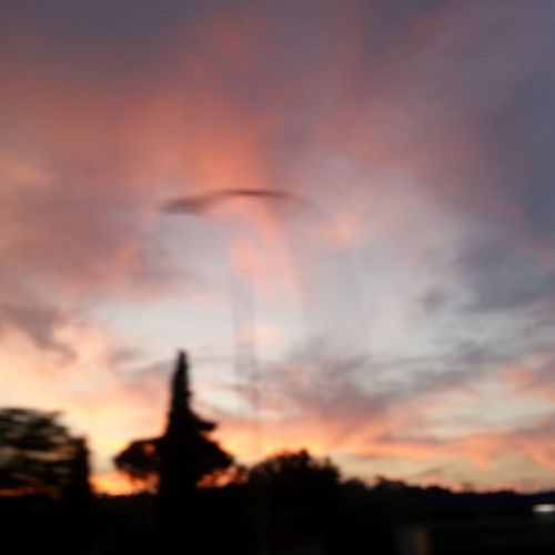 Sunset Cloud - Sky Nature Dramatic Sky Outdoors Umbrian Sky Umbrian Landscape Colors Colors Of Nature Capture The Moment From A Car Window Beauty In Nature Mouvement Mooving Orange Color Light And Shadow