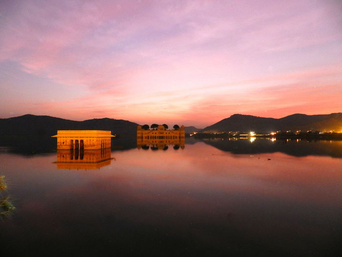 Cities At Night NoEditNoFilter Jaipur India Rajasthan Man Sagar Lake Jal Mahal