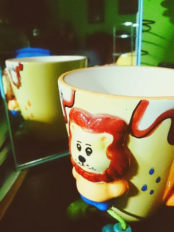 """Lemon By Motorola """"Childhood Cup"""". Start your day using your favorite cup. Yellowishappiness Takeasip Starter"""
