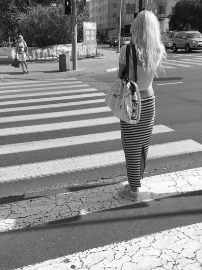 Two Zebras - Gdynia 1 September 2015 ( IPhone 6+ ) Iphone 6 Plus IPhoneography EyeEmBestPics EyeEm Best Shots EyeEm Best Edits EyeEm Masterclass EyeEm Gallery Polishgirl Gdynia Poland Bnw_collection Bnw_captures Bnw_society Bnw Streetphotography Streetphoto_bw IPS2016People