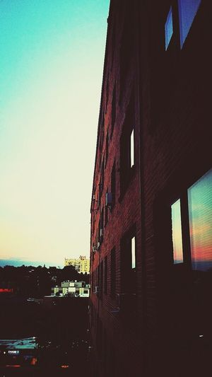 City Life Nightimephotography Good Night Architectural Detail Brick Wall Lines And Angles Sunset_collection Skyline