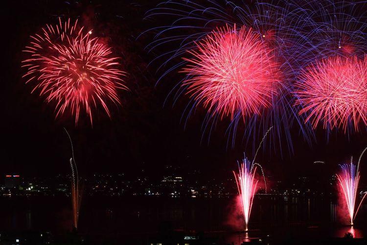 長野県 諏訪市 花火大会 Japan Nagano Suwa Fireworks Festival