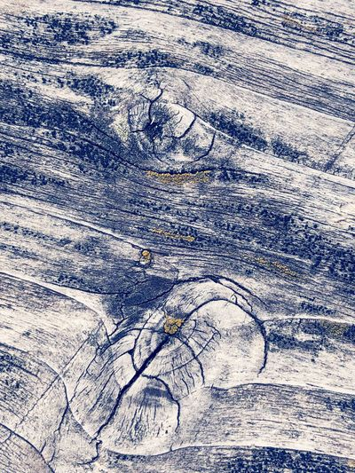 Backgrounds Aerial View High Angle View Cracked Full Frame Textured  Nature Pattern Day Cold Temperature No People Outdoors Landscape Close-up