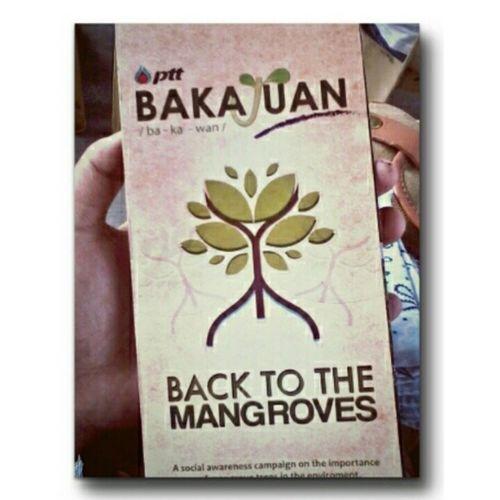 PTT Philippines Corporations' BakaJuan /ba-ka-wan/ Back to mangroves - Enviromental awareness seminar. Pttpphilippines Pttinfocaravan Khunpakinfever PTTbakaJuan cavitestateuniversity @pttphilippines