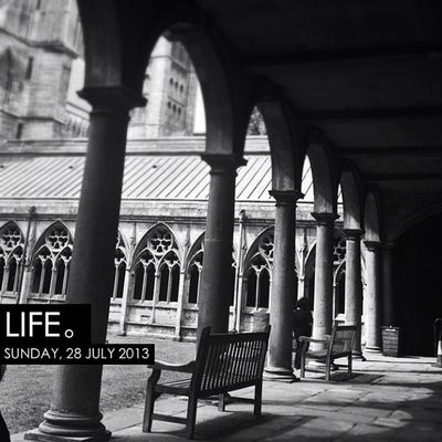 Photooftheday InstaCC Instaccpopd7 Life Monochrome Iphoneonly Lincoln Lincolncathedral Photo365 K8marieuk Snapseed Igers Instagrammers Chair Seat Cathedral Religion Jesus God Cloisters  Arches Arch stone