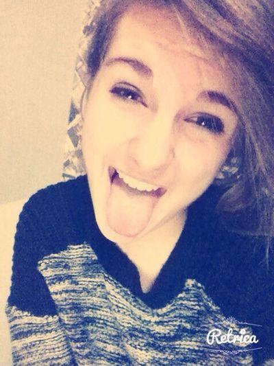 Me Girl Selfie Happy